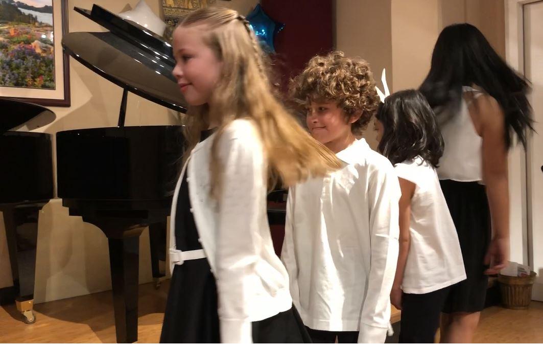 Quartet Performed at Spring Concert